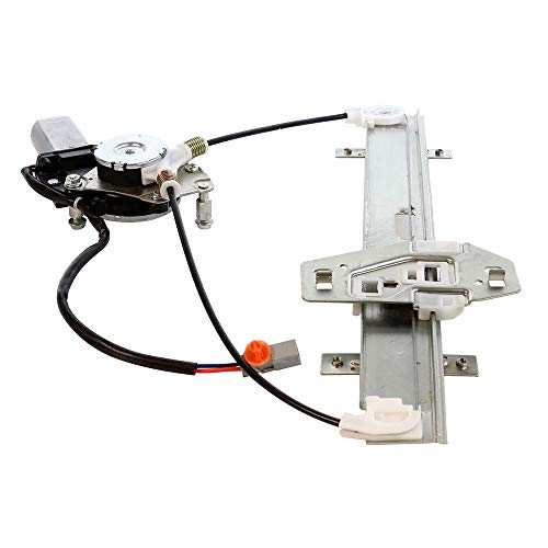 (Rear Left Driver Power Window Regulator with Motor Compatible for 2001-2006 Acura MDX Base & Touring)