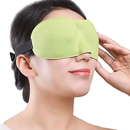 T-YZAG 2 piezas Máscara de ojo estéreo 3D dormir sombreado ...