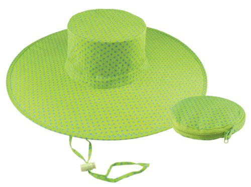 Twist Sun Hat with Chin Cord and Fabric Bag for Gardening, 40C2
