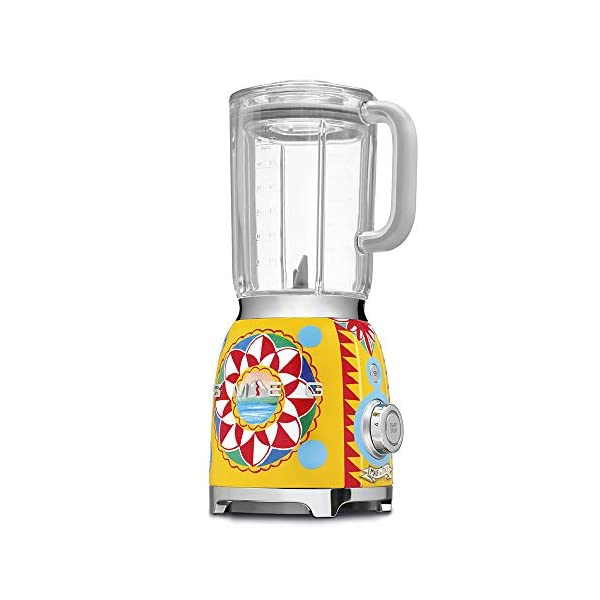 """Dolce and Gabbana x Smeg Countertop Blender BLF01DGUS,""""Sicily Is My Love,"""" Collection 4"""