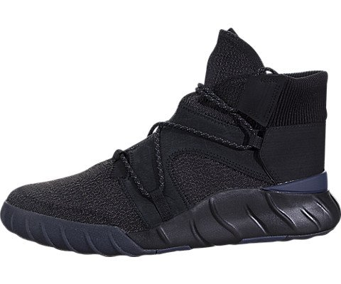 adidas Tubular X2.0 Mens Shoes Coral Black/Black/Trace Blue by3615 (9.5 M US)