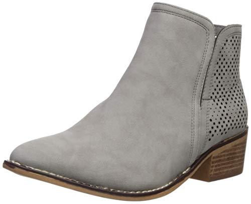 Madden Girl Women's Neville Ankle Boot, Grey Paris, 6.5 M US
