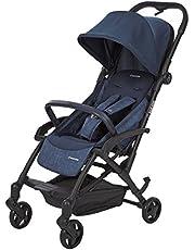 MAXI COSI Laika Compact Lightweight Newborn 4 Wheel Stroller, Nomad Blue