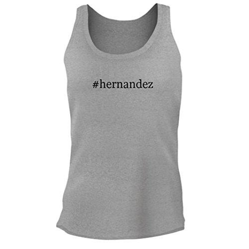 Tracy Gifts #Hernandez - Women's Junior Cut Hashtag Adult Tank Top, Heather, Medium