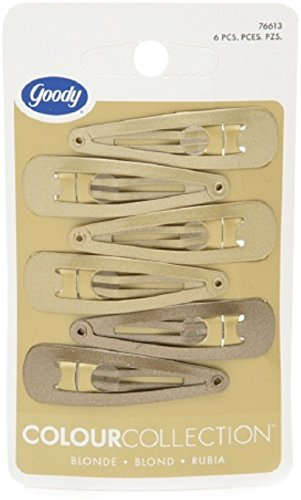 Goody Colour Collection Contour Clips, Blonde 6 ea (Pack of 2)