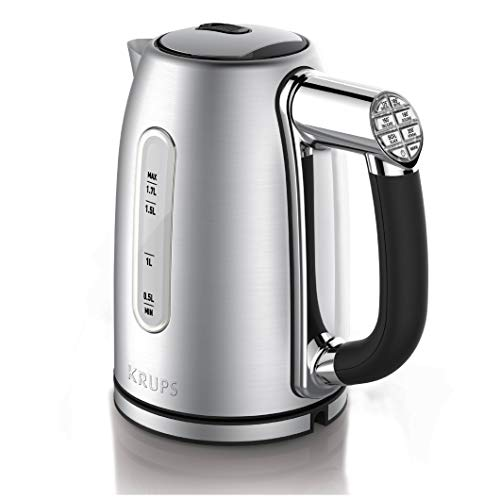 KRUPS BW26 Cool-touch Stainless Steel Double Wall Electric Kettle