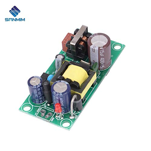 Utini AC220V-DC12V 1A 12W Power Supply Isolated Switch Power Supply Module 220 to 12v Bare Board PLF12B12V