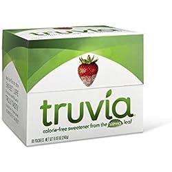 Truvia Natural Sweetener, 80 Packets-(Net.Wt 8.46 oz)