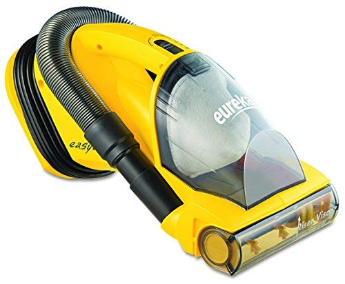 Eureka Easy Clean Hand Vacuum 5 lbs, Yellow - crevice tool, on-board hose with cord wrap, easy-empty dust cup, Riser Visor.