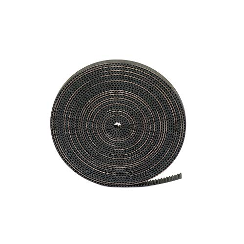 GT2 Timing Belt for 3D Printer, FYSETC 5 Meters (16.4 Ft) Length Open Belt 2mm Pitch 6mm Width Rubber Fiberglass Reinforced for RepRap Pursa i3 3D Printer CNC