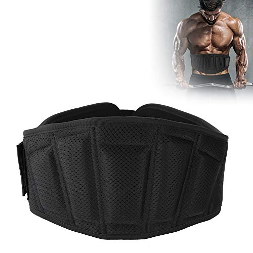 Waistband para Fitness Unisex, Soporte de Cintura para Lumbar Apoyo, Cinturon protector de Espalda para Deportes Correr y...
