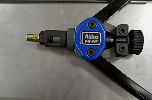 Astro Pneumatic Tool 1442 Nut Thread Setting Hand Riveter