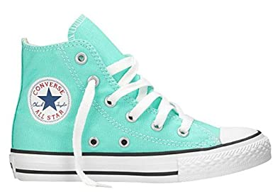 b281db0411ab Image Unavailable. Image not available for. Color  Converse Chuck Taylor® All  Star® Hi (Toddler Youth) Aruba Blue 1