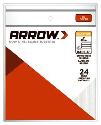 Arrow Fastener BAP5-4 4'' All Purpose Glue Sticks 24 Count