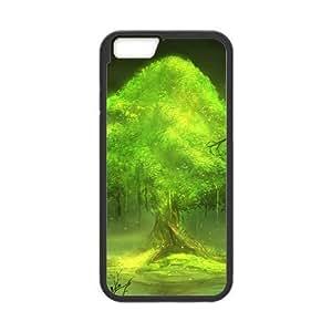 G-nation Sci-fi design world trees art Custom Case for iPhone6 4.7; (Laser Technology)