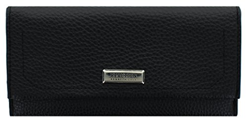 Kenneth Cole Zipper Wallet (Reaction Kenneth Cole Greenpoint Wallet - Women's - Black)