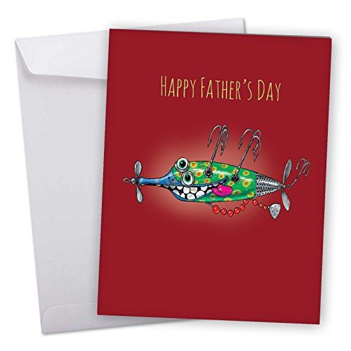 j5643gfdg-jumbo-fathers-day-card-off-the-hook-with-envelope-extra-large-version-85-x-11