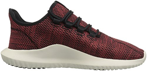 Adidas Originals Heren Tubular Shadow Ck Fashion Sneakers Core Zwart / Trace Scarlet / Chalk White