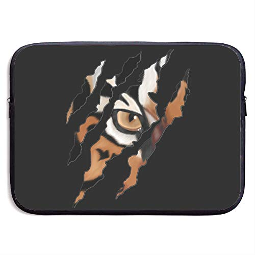 EYFlife Tiger Claw Tiger Eye Portable Laptop Sleeve 13 Inch 15 Inch Water-Resistant Computer Case