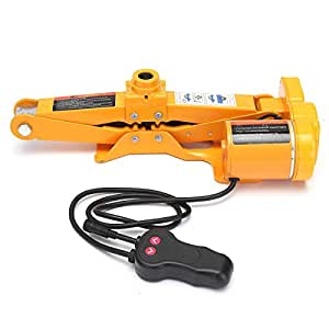 2 TONS lifting car battery electric jack with electric impact wrench car lift 4x4 accessories