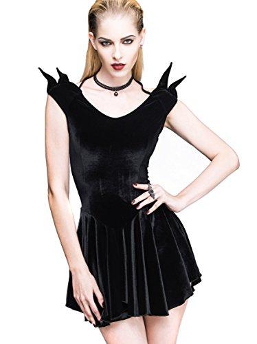 Steampunk Punk Rock Blouse Gothic Dress Renaissance Costume Cyberpunk Clothes (XL) (Punk Fancy Dress Ideas)