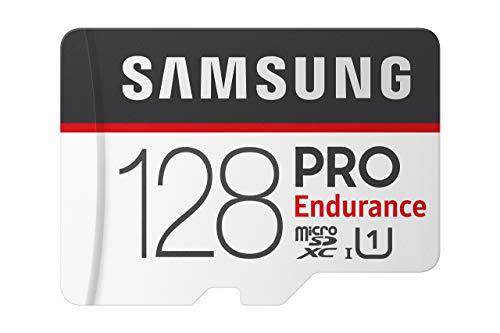 Samsung PRO Endurance 128GB 100MB/s (U1) MicroSDXC Memory Card with