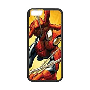 Spider man iPhone 6 Plus 5.5 Inch Cell Phone Case Black Exquisite gift (SA_633355)