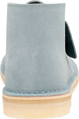 Nubuck Clarks Womens Womens Boot Grey Desert Clarks Ankle Blue 8nxx6ap1