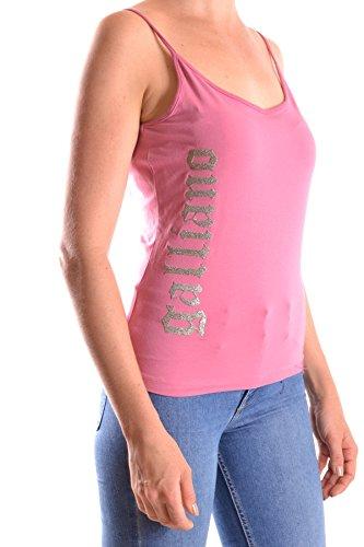Galliano Mujer MCBI130076O Rosa Algodon Tank Top