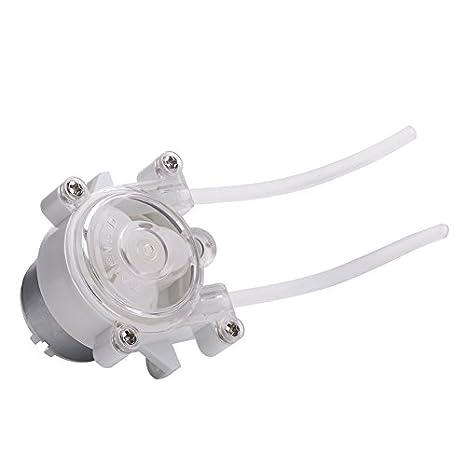 Yosoo® DC 6V Peristaltische Pumpe Aquarium Lab Schlauch Pumpen