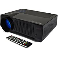 FAVI 4T Ultra-Bright LED LCD (HD 720p) Home Theater Projector - US Version (Includes Warranty) - Black (RIOHDLED4T-US7)