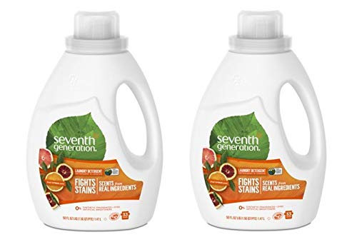 Seventh Generation Natural Liquid Laundry Detergent Fresh Ci