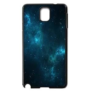 Samsung Galaxy Note 3 Case,Deep Blue Space Hard Shell Back Case for Black Samsung Galaxy Note 3 Okaycosama366393
