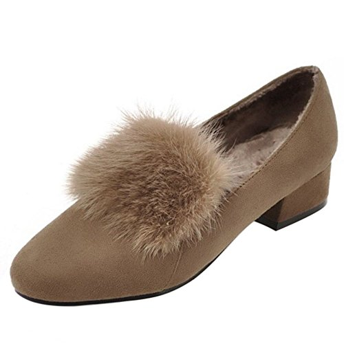 Pull On Camel Scarpe TAOFFEN Autunno Donna qAp441ct