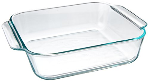 glass baking dish square - 2