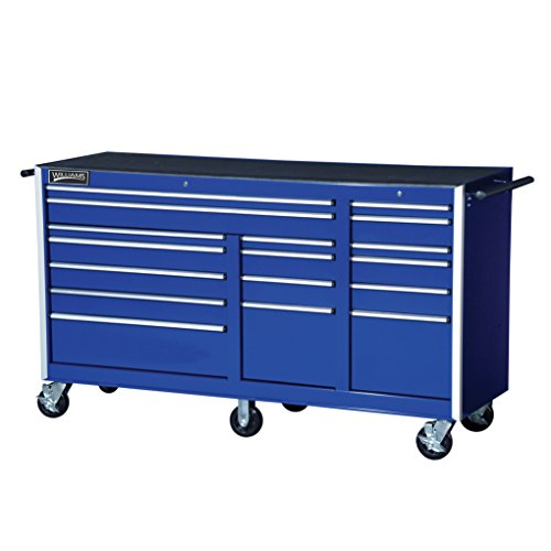 Williams 50992BL 17 Drawer Commercial Series Roll Cabinet, 75