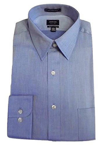 Arrow Classic Fit Wrinkle-Free Long Sleeve Dress Shirt for Men