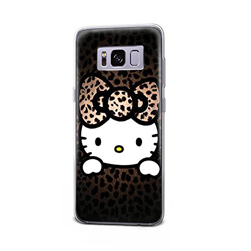 GSPSTORE Galaxy Note 8 Case Hello Kitty Cartoon Hard Plastic Protector Case Cover for Samsung Galaxy Note 8 #05