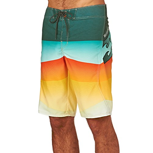 Billabong Board Shorts - Billabong Revolver Og 21 Board Shorts - Neo Lime (Og Revolver)