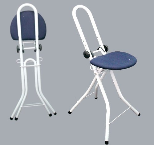 Super Folding Adjustable Perching Ironing Stool Uwap Interior Chair Design Uwaporg