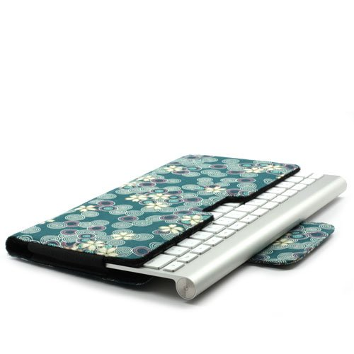JAVOedge Blue Cherry Blossom Protective Case for Apple Magic
