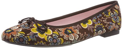 Brown Women's Ballet Women's Bisue Bisue Brown Ballet wqqz16F
