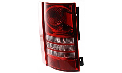 Evan-Fischer EVA15672016883 Tail Light for Chrysler Town and Country 08-10 LH Assembly CAPA Certified Left Side Replaces Partslink# - Country Ten Light
