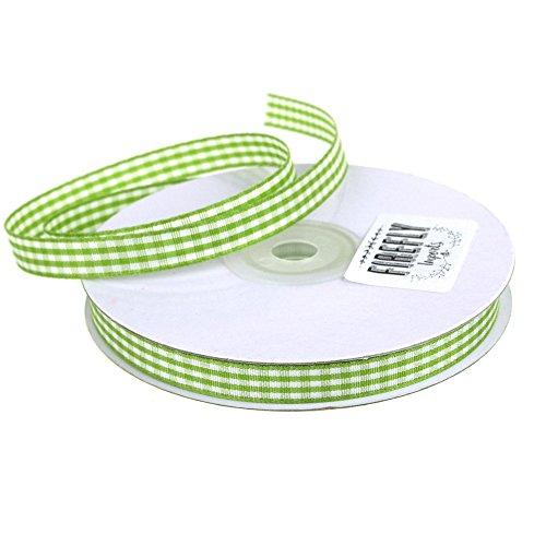 Homeford FHV0000000003437 Gingham Polyester Ribbon 3/8