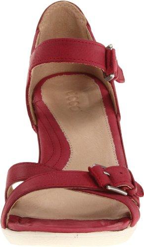 ECCO Sculptured 65 Brick sandalo rosso tacco 60