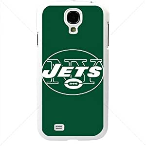 NFL American football New York Jets NY Jets Fans Samsung Galaxy S4 SIV I9500 TPU Soft Black or White case (White)