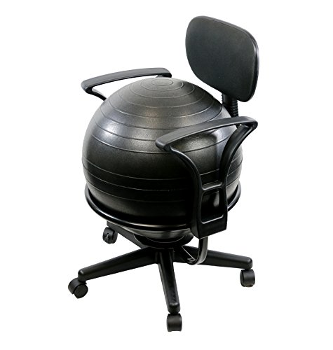 CanDo Metal Ball Chair, 22
