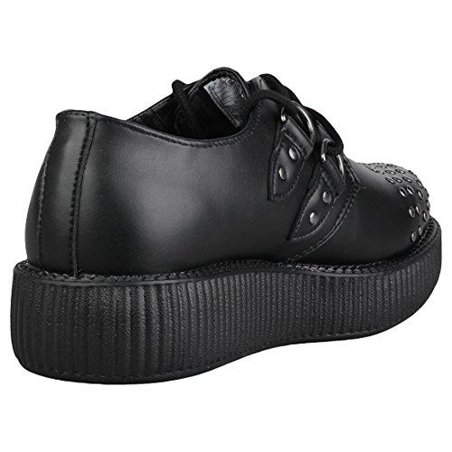 Noir Goujons Shoes Plante Grimpante Viva K Cloison Seule U T amp; Basse aq6nIxtRw