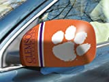 Fan Mats Clemson University Small Mirror Cover ORANGE/WHITE/BLUE 5.5 X 8