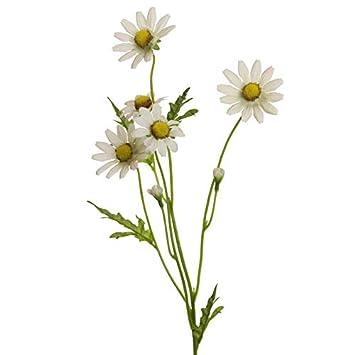 Floratexx Kunstblume Margeritenzweig Ca 60 Cm Margerite Mit